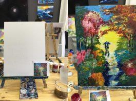 Картина на акриле – когда художник не умеет рисовать