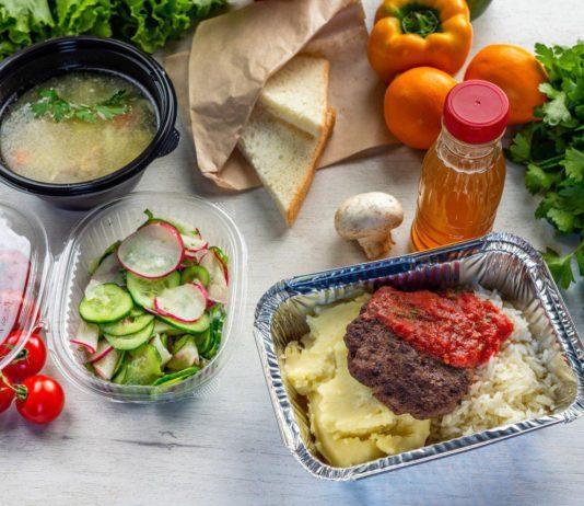 Здоровая и вкусная еда - доставка обедов в офис