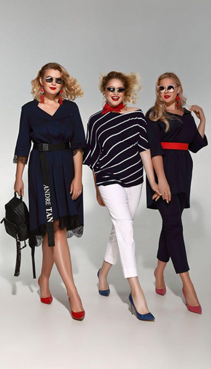 Дизайнерская одежда больших размеров в магазине Андре Тан